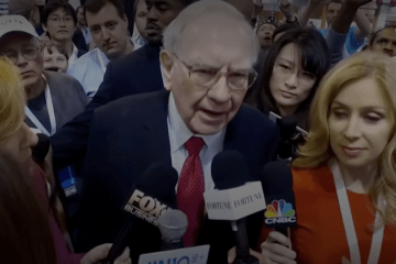 Warren E. Buffett CEO of Berkshire Hathaway, INC Shareholder Meeting 2020