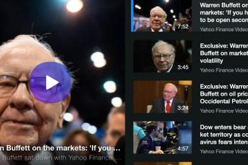 Warren Buffett on the markets