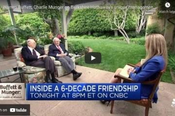 Warren Buffett, Charlie Munger on Berkshire Hathaway's unique management style