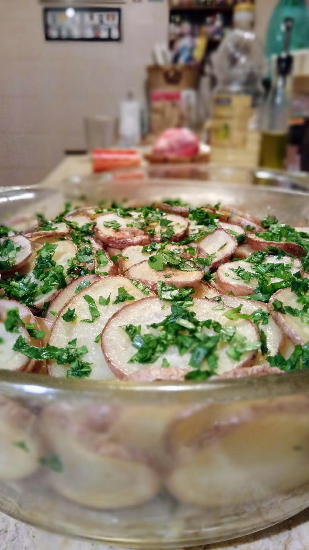 theWise in cucina: Carciofi in crosta di patate rosse al microonde