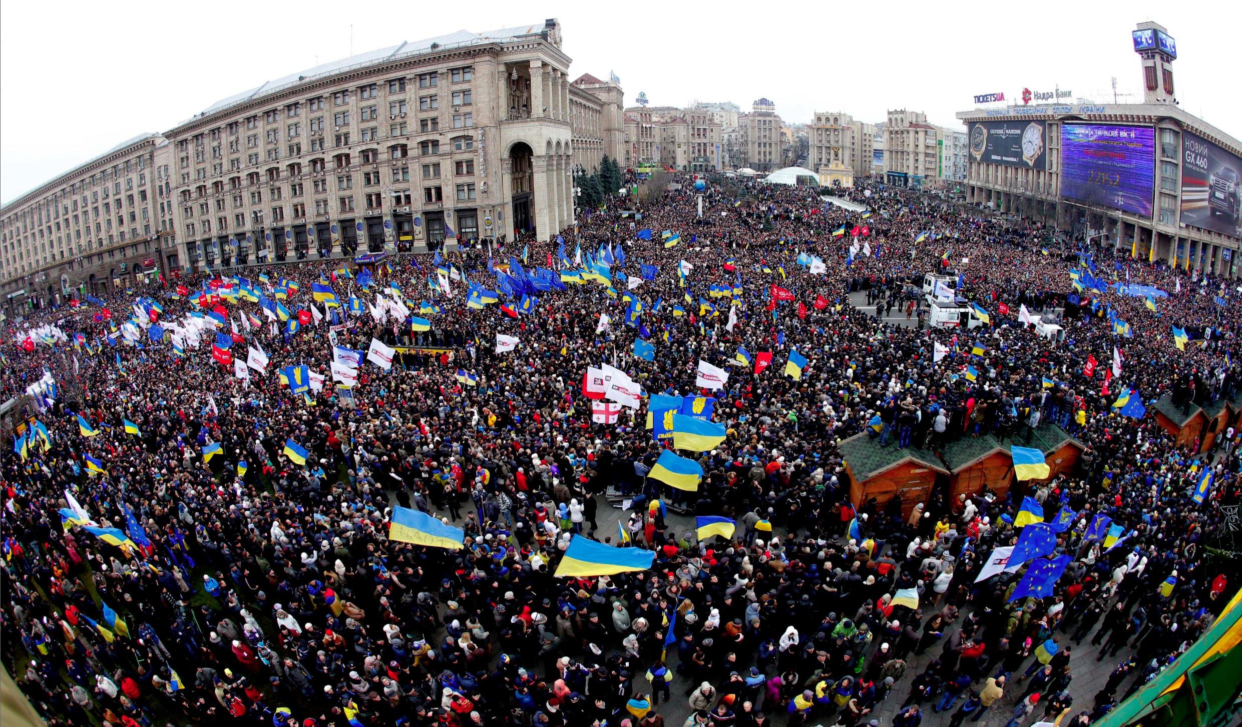 Ucraina: l'orso sulla soglia di casa