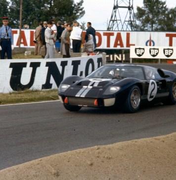 La Ford GT40 Mk. II, vincitrice della 24 ore di Le Mans del 1966, foto: media.ford.com