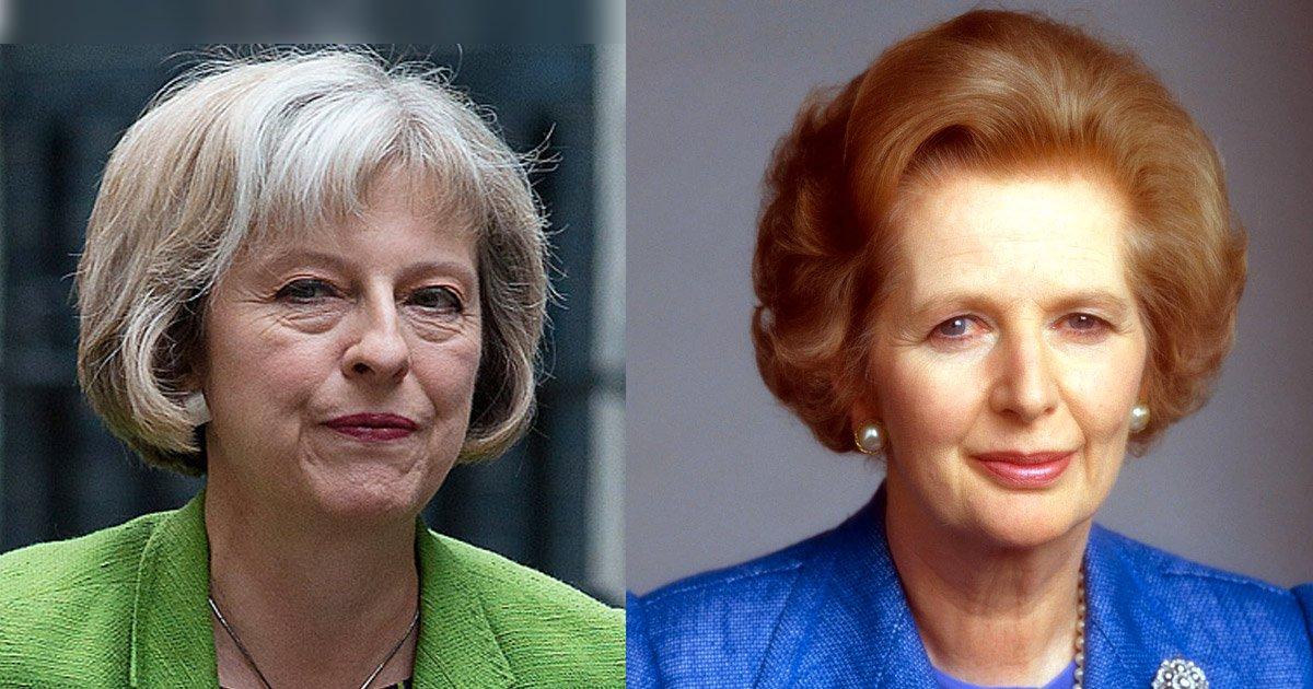 Due donne, una carica: Theresa May e Margaret Thatcher a confronto