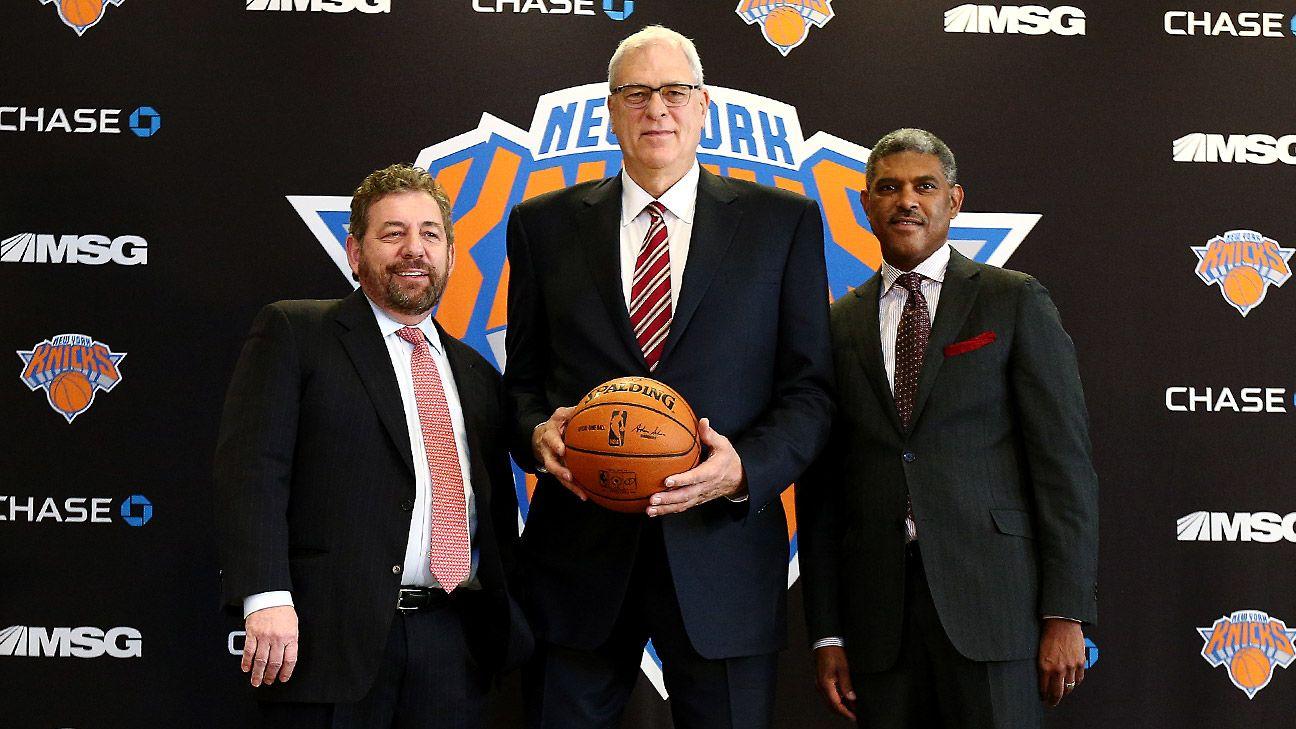 Phil Jackson e la gestione di una franchigia NBA