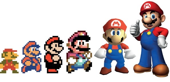 L'evoluzione della grafica nei videogames, dagli albori 2D ai giorni nostri in 3D (prima parte)