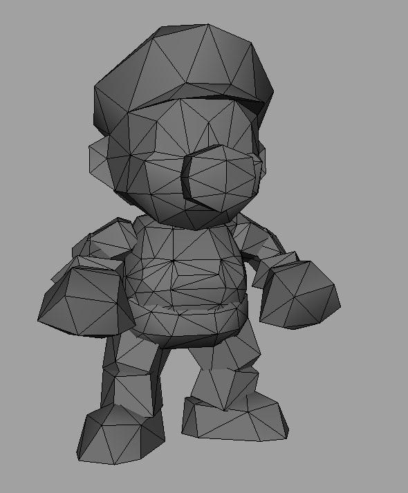 mario poligoni grafica 3d