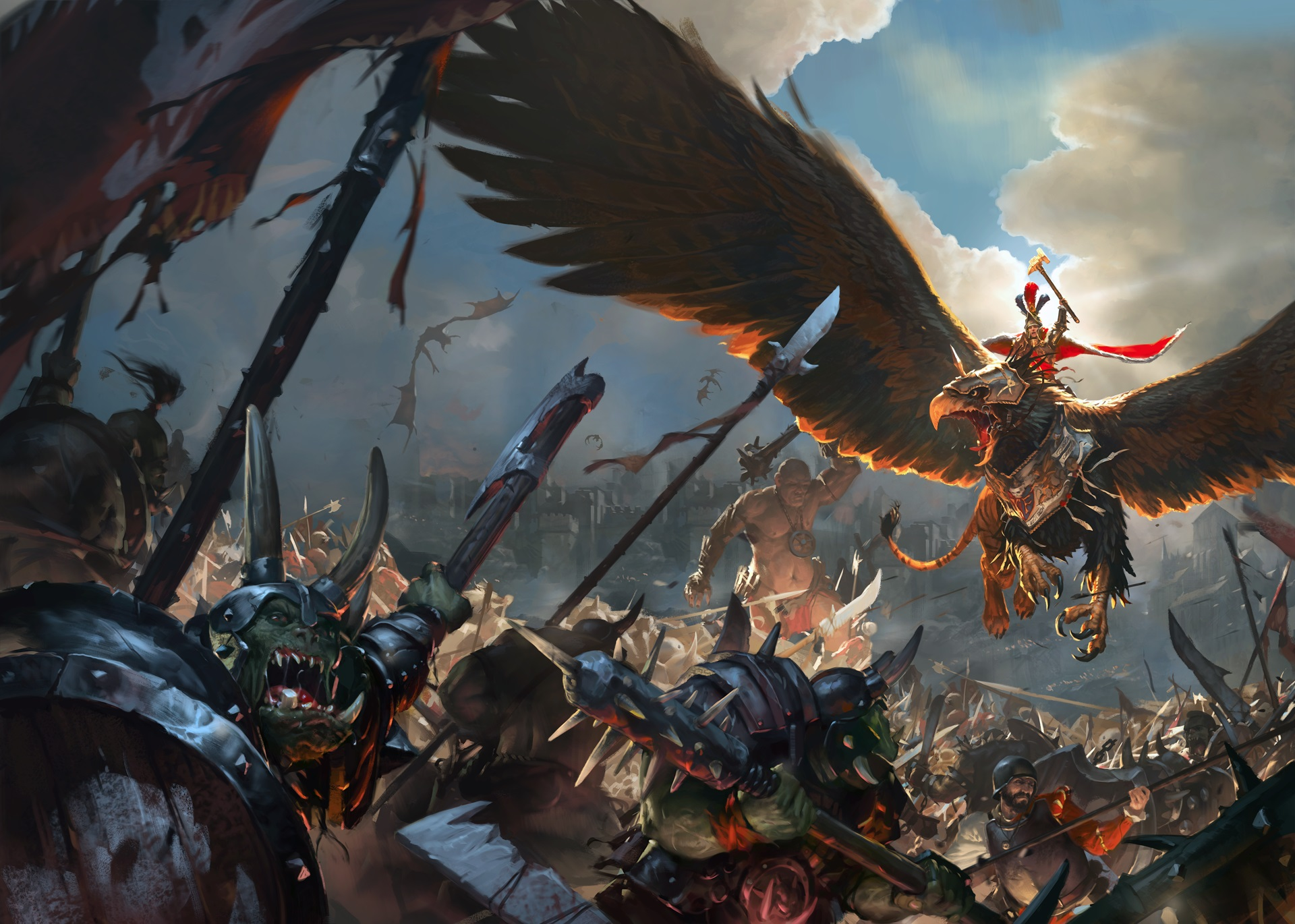 Total War: Warhammer è finalmente completo