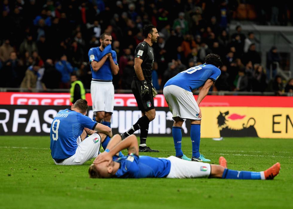 Italia-Svezia: il lunedì nero del calcio