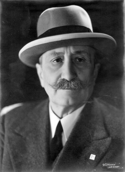 Il genetista italiano Nazareno Strampelli.