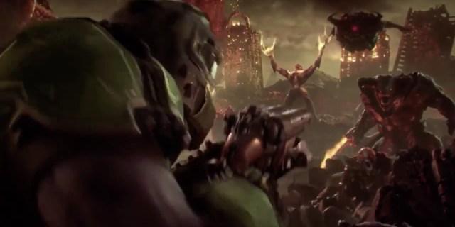 E3 2018 Bethesda Doom Eternal