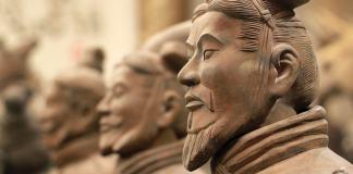 l'esercito di terracotto è più o meno coevo de L'arte della guerra