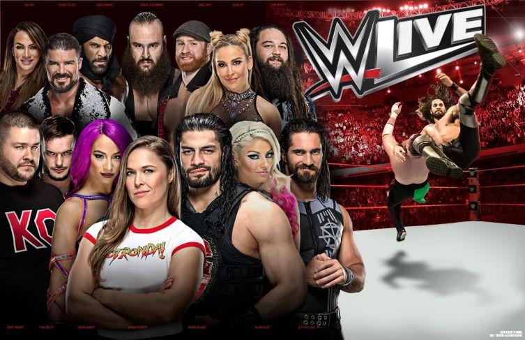 WWE Live Italia: VIP experience e card completa