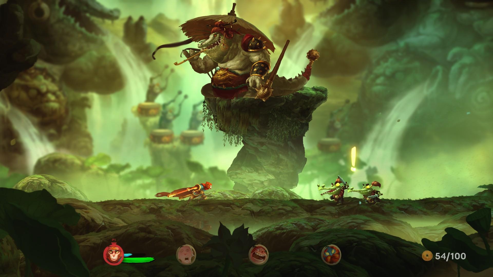 unruly heroes gameplay