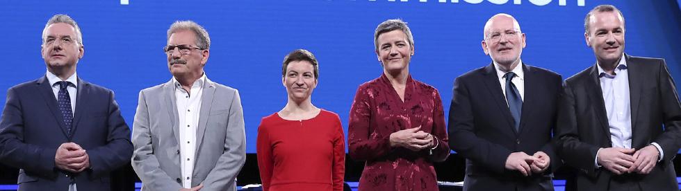 Gli Spitzenkandidaten: l'Europa che verrà