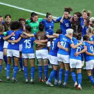 La Nazionale femminile di calcio ai mondiali di Francia 2019. Foto: Getty Images.