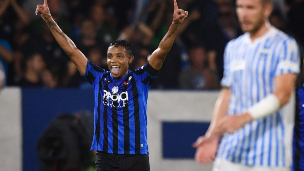 Luis Muriel, Atalanta. Foto credit: Getty Images