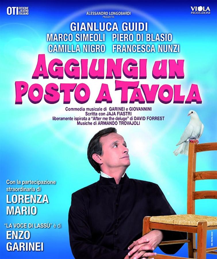 """""""Aggiungi un posto a tavola"""" al Teatro Augusteo di Napoli"""