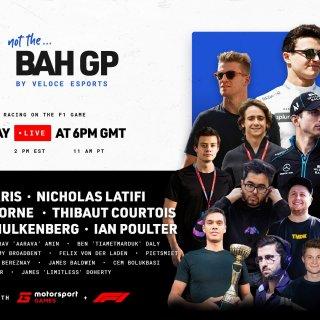 La NotGP Series, campionato esports creato per sopperire alla mancanza di Formula 1. Foto: twitter.com/veloceesports