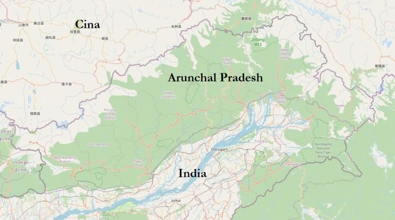Arunchal Pradesh © OpenStreetMap contributors CC BY-SA