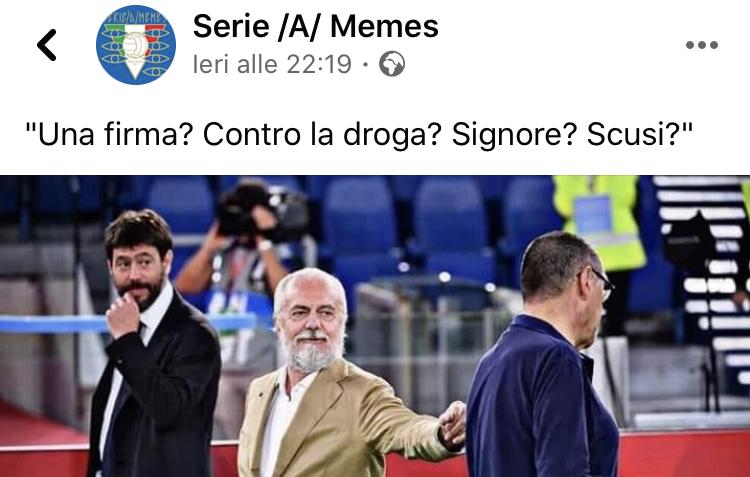 Meme e Serie A insieme: theWise incontra Serie /A/ Memes