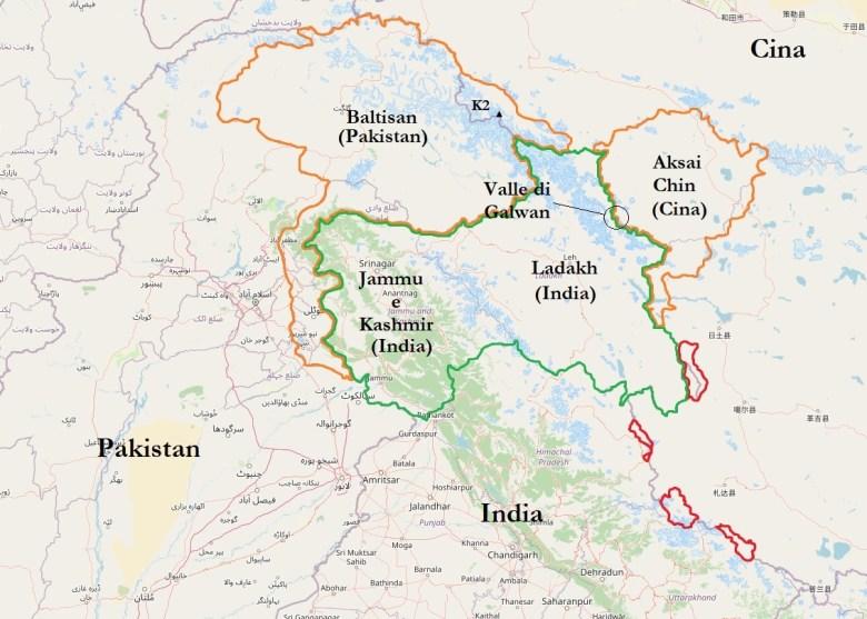 Jammu e Kashmir © OpenStreetMap contributors CC BY-SA