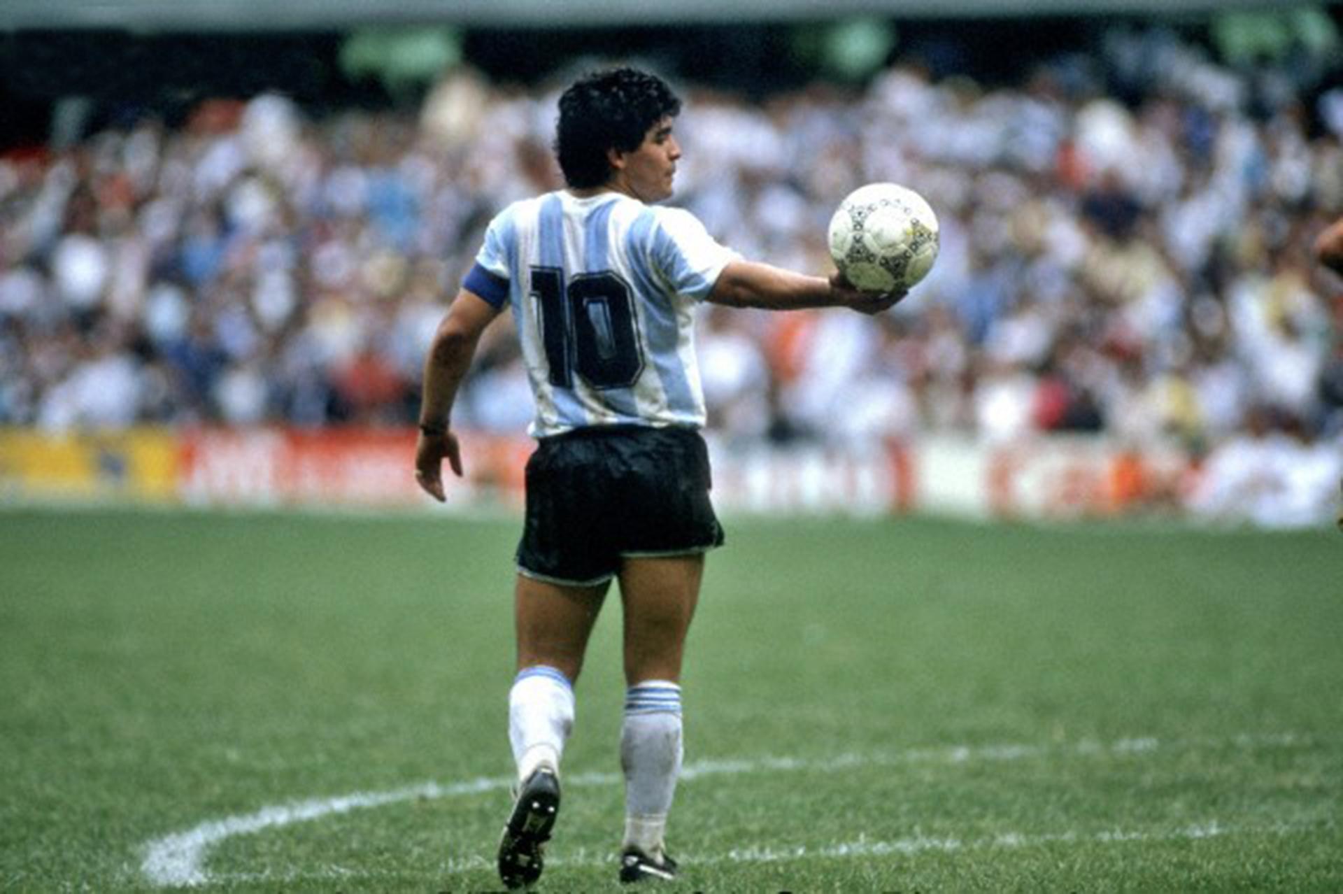 Non ho visto giocare Maradona