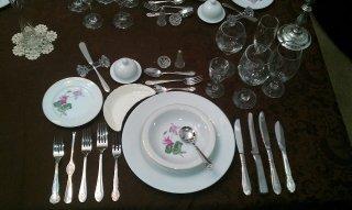buone maniere a tavola