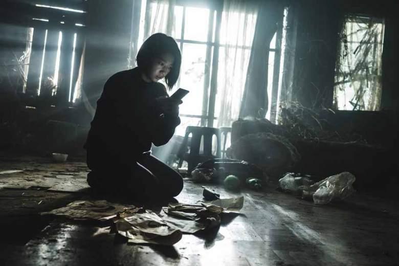 Attrice Park Shin-Hye nel film Netflix Call