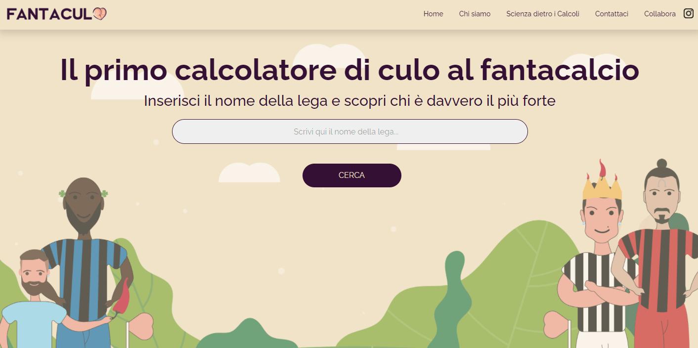 Ecco come funziona Fantaculo, il sito che ti dice se hai sfiga al fantacalcio