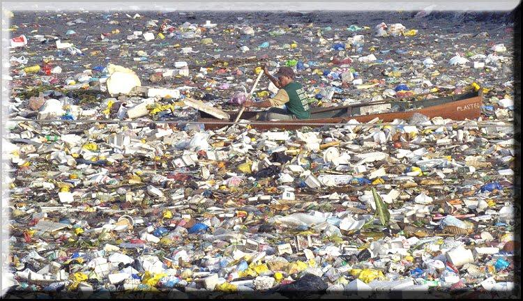 L'enorme isola di plastica del Pacifico
