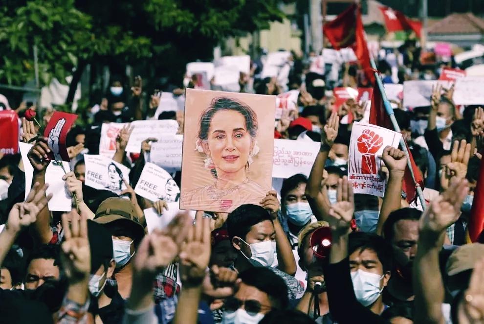 La situazione in Myanmar, tra scontri e proteste