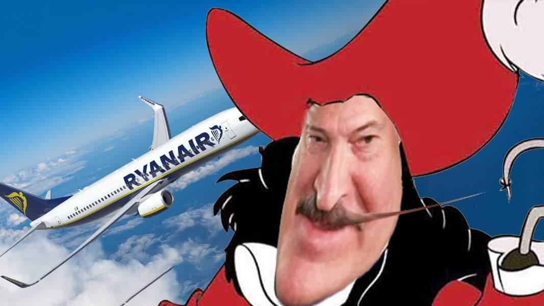 Pirateria di Stato: Bielorussia dirotta un aereo Ryanair