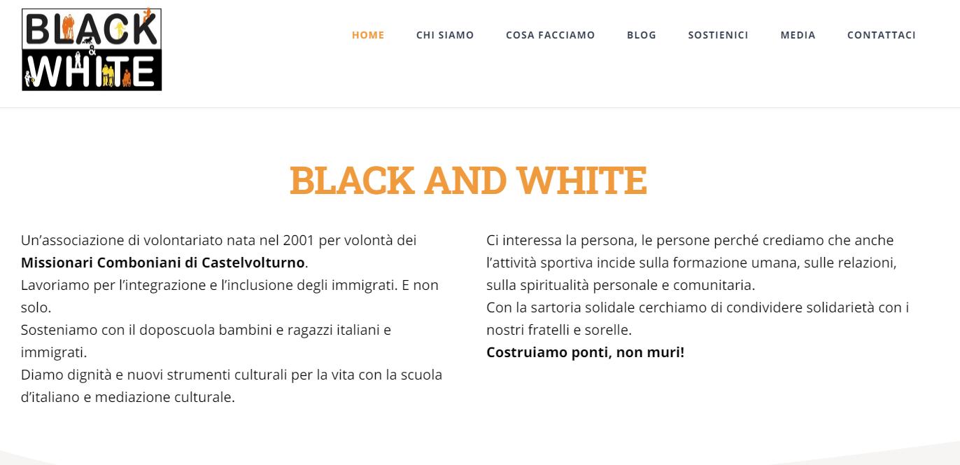 A Castel Volturno il torneo di calcio Black and White contro le discriminazioni