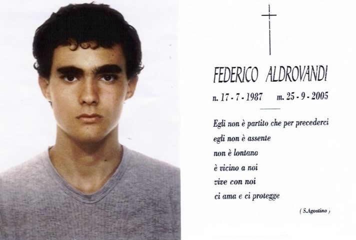 Federico Aldrovandi: un ricordo a sedici anni dall'omicidio