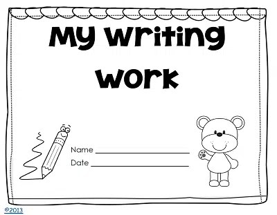 Thematic Writing Paper for Kindergarten Free PDF • Wise