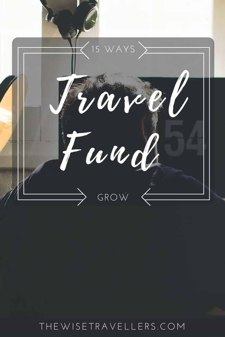 grow your travel fund