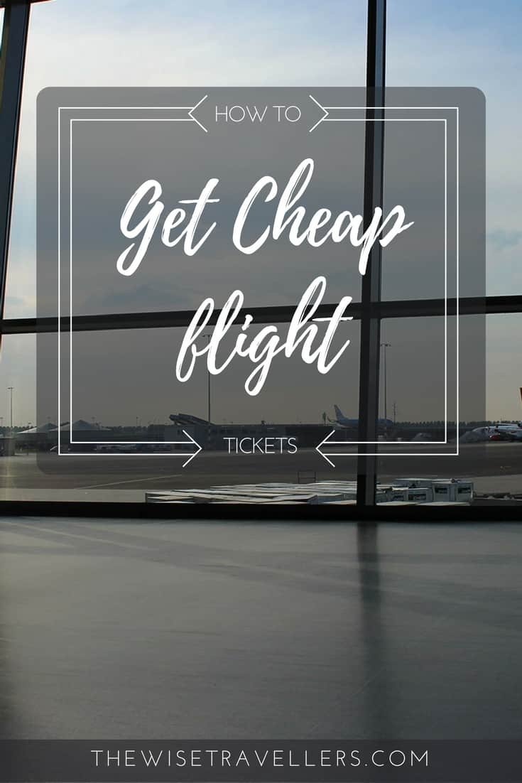 Pinterest find cheap flight ticket