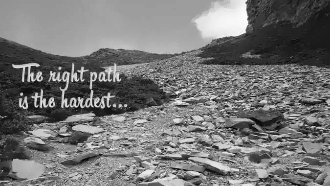 stop dreaming hardest path
