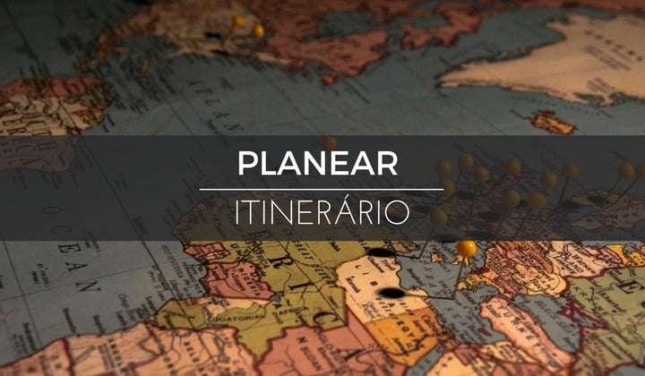 recursos de viagem planear itinerario