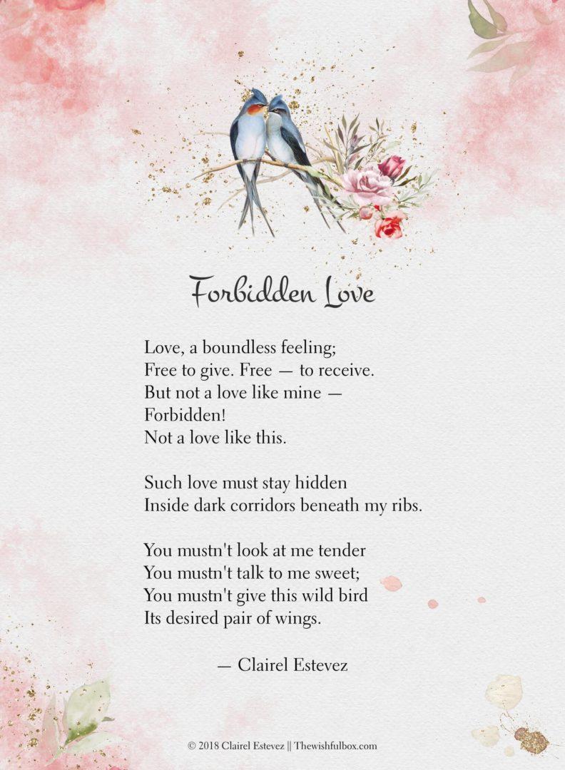 Spanish Poems Valentine Short-6259