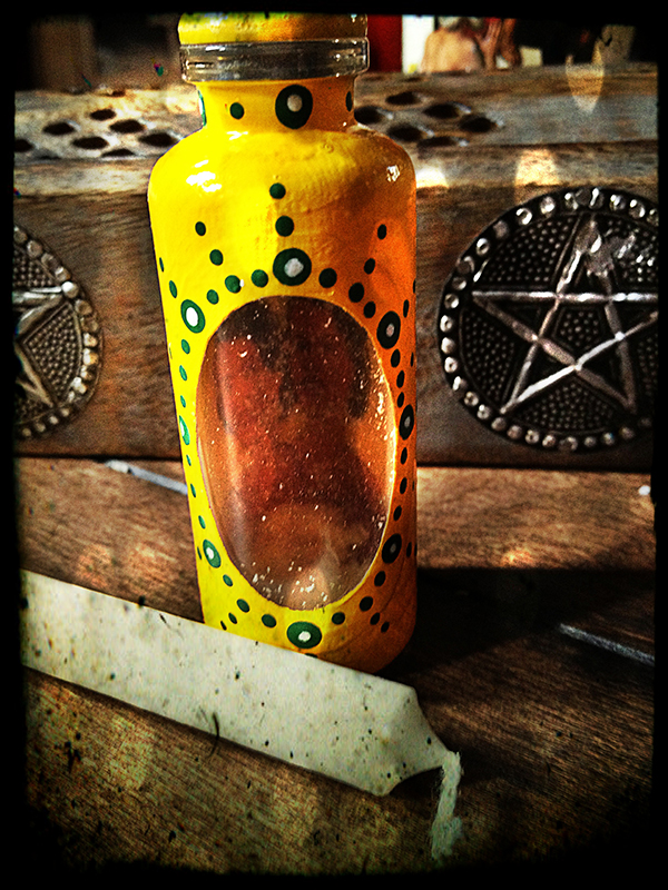 Stop Gossip Witches Spell Bottle
