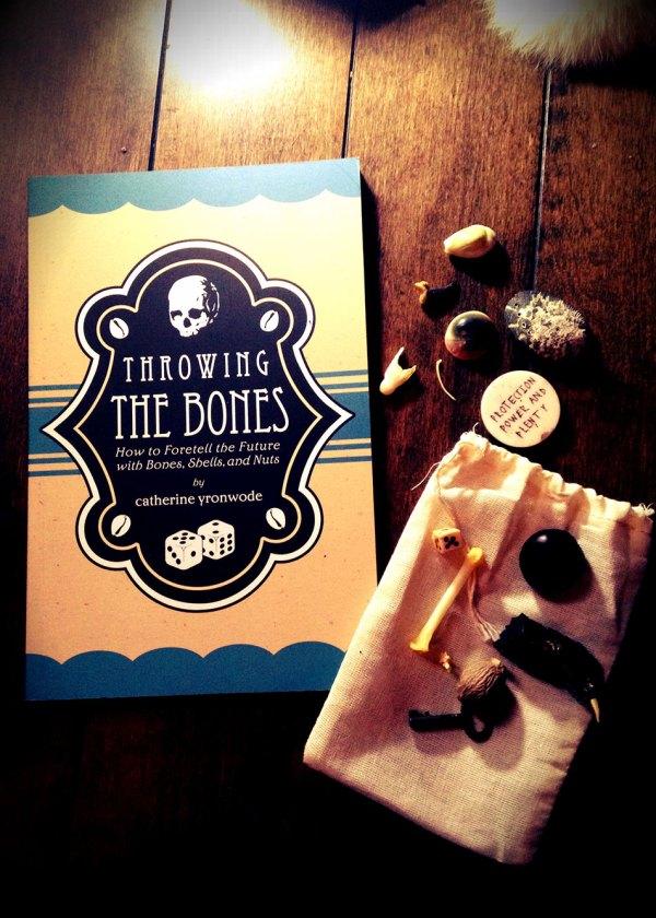 Throwing the Bones Book and Bone Reading Set