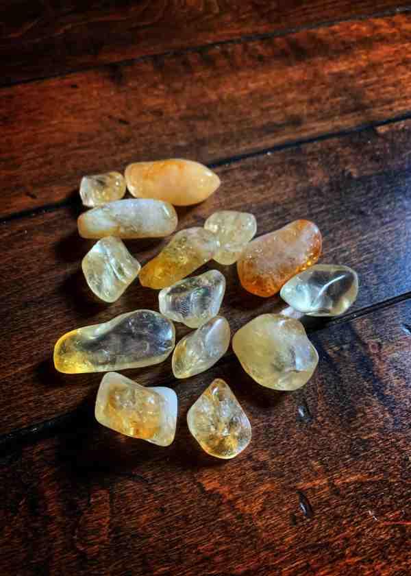 Polished Citrine Stone