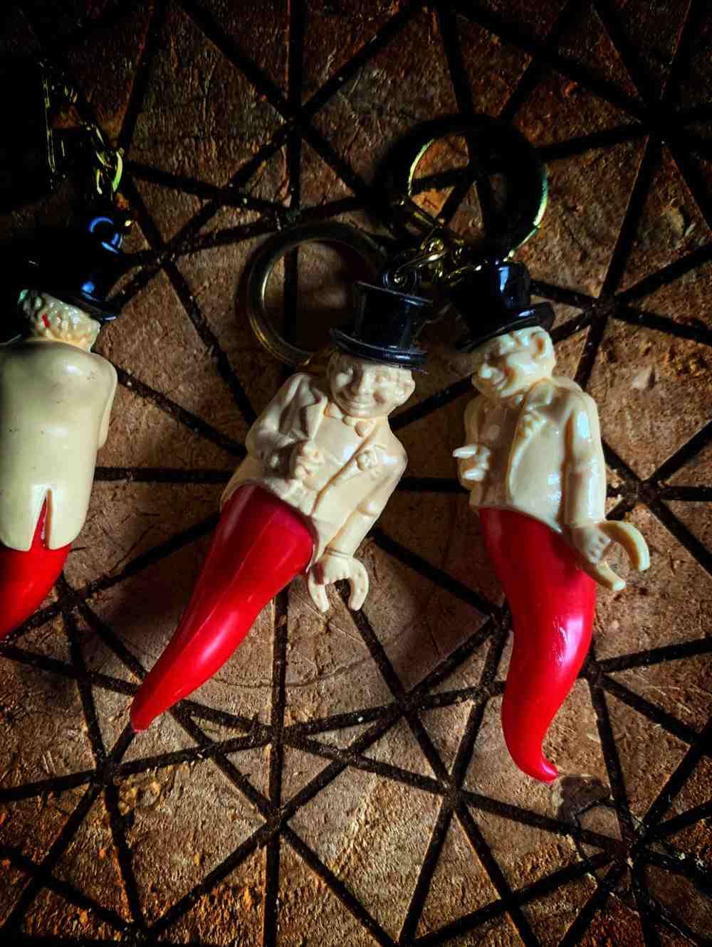 Corno Gobbo Keychain Amulet