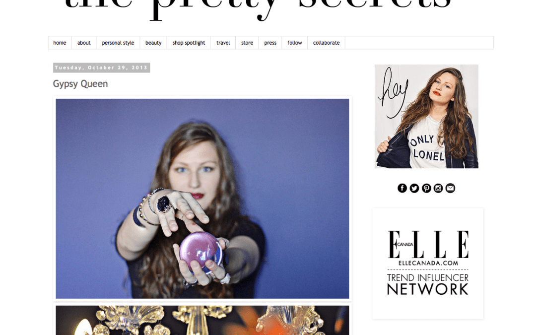 The Witchery Featured on The Pretty Secrets