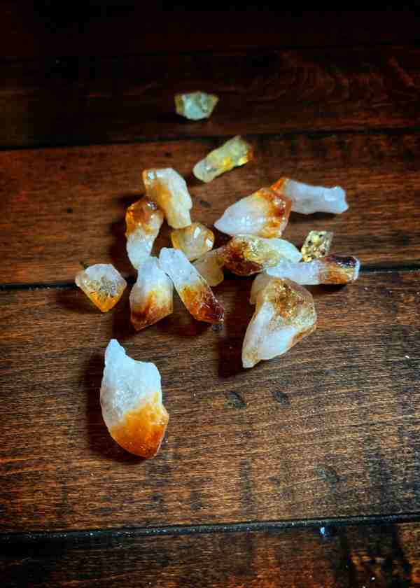 Raw Citrine Crystals