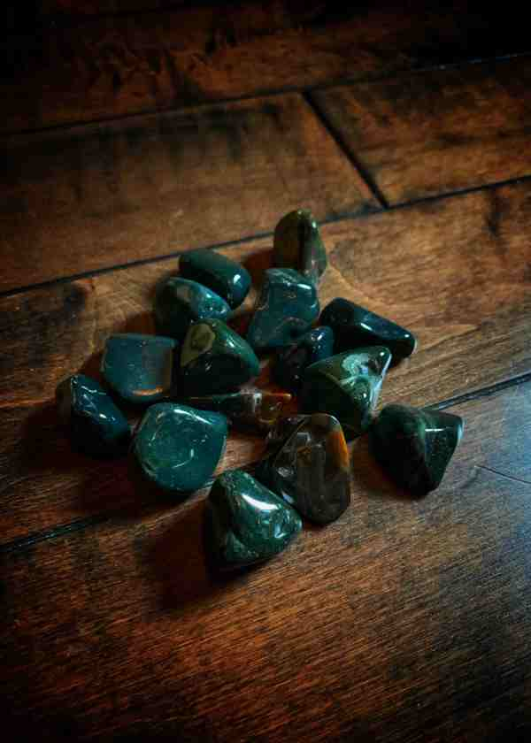 Polished Bloodstone