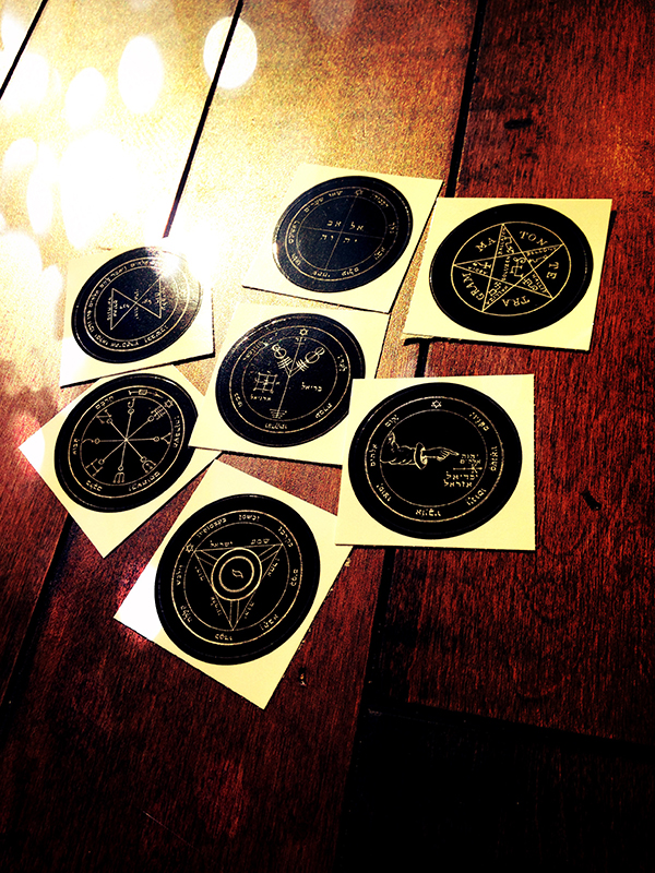 Solomons Seal Stickers