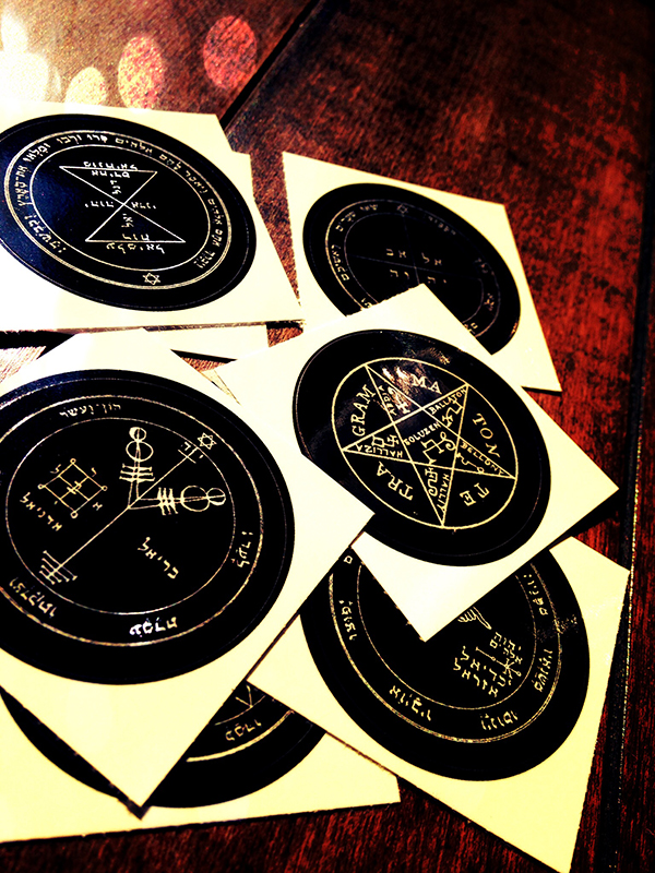 Solomons Seal Stickers