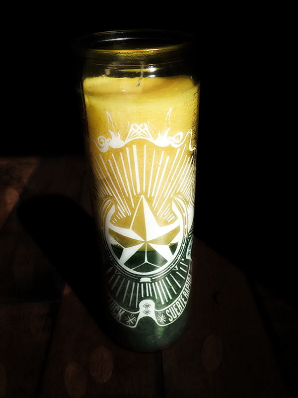 Fast Luck Vigil Candle